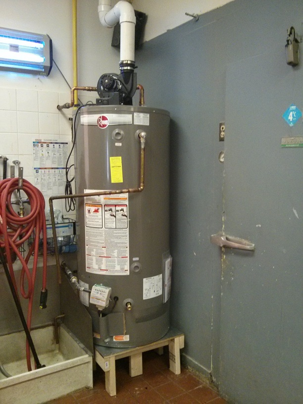commercial hot water tank