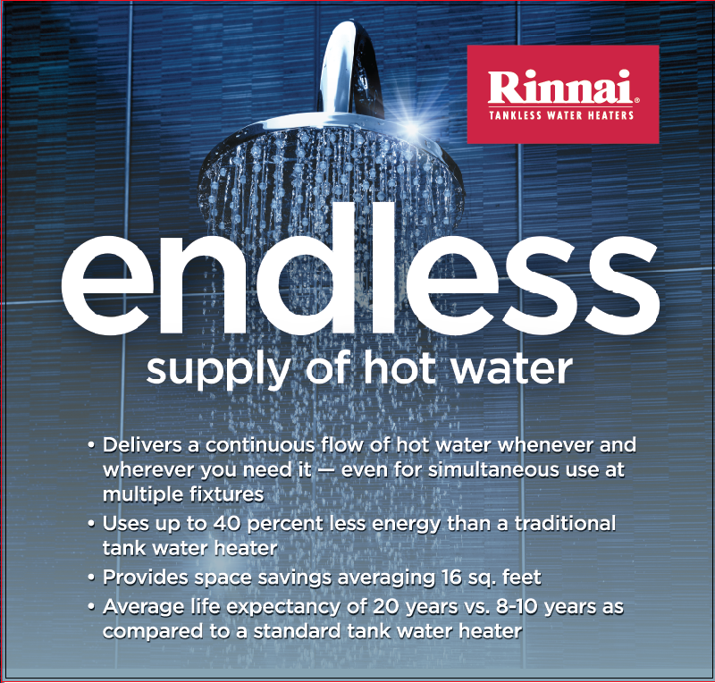 RINNAI FACTS WATER HEATER